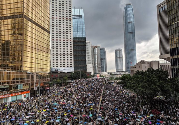 An estimated 1.7 million took to the streets in Hong Kong to protest Chinese influence in the region (Credit: Studio Incendo)