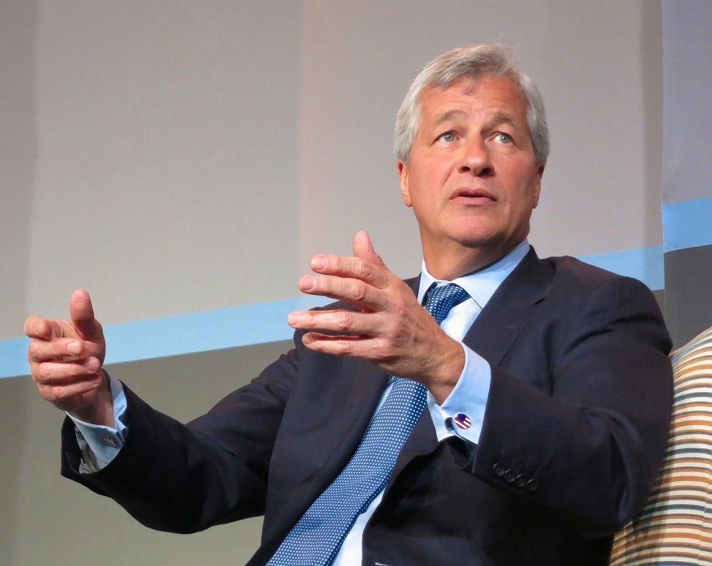 JPMorgan & Chase CEO Jamie Dimon also serves as the chair of the Business Roundtable (Credit: Steve Jurvetson/Flickr)