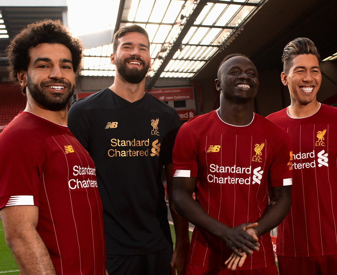 Liverpool Nike kit deal, football kit sponsors