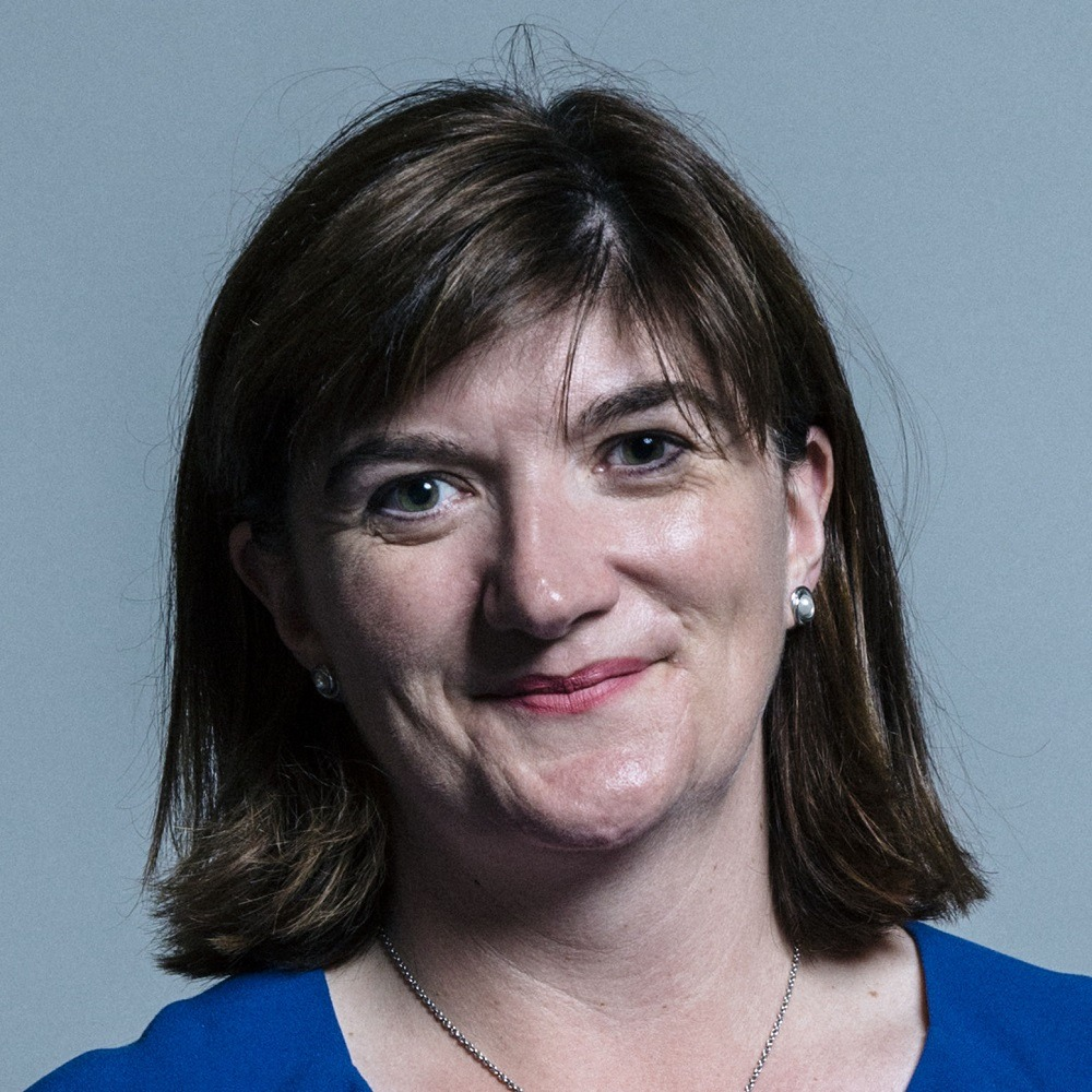 UK digital secretary Nicky Morgan