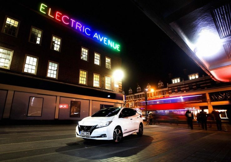 Charging points for electric vehicles now outnumber fuel stations in the UK