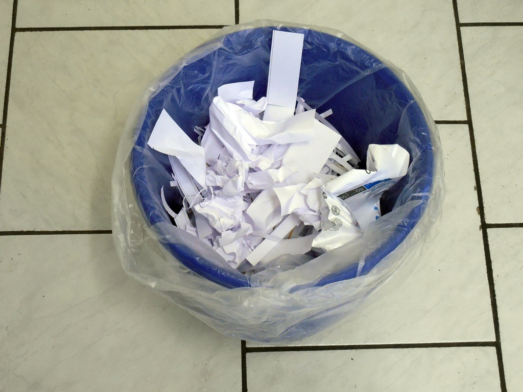 office paper recycling
