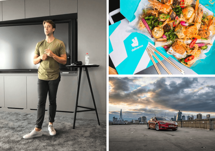 Xavier Collins gave advice to prospective founders based on his own experiences with Deliveroo, Turo and Uber