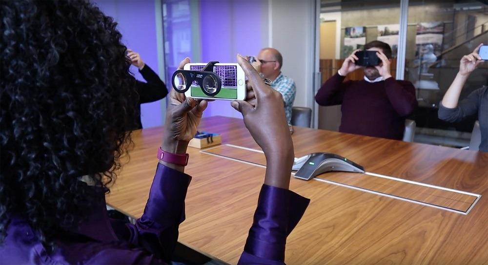 HOK virtual reality, augmented reality architecture