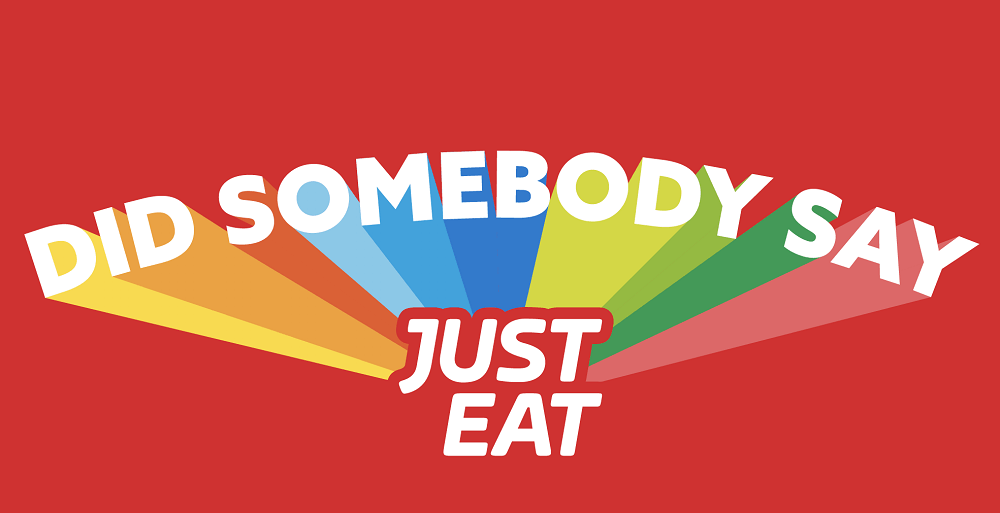 just eat packaging