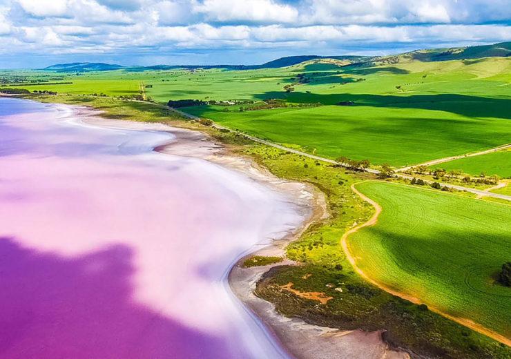 South Australia Pink Lake