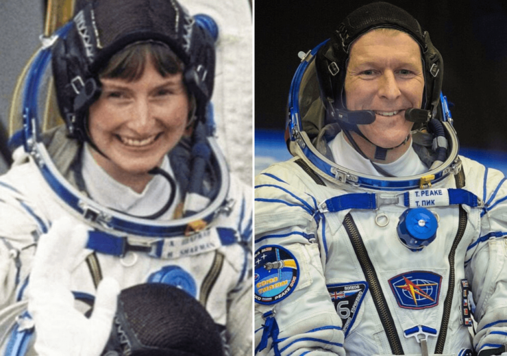 British astronauts Tim Peake and Helen Sharman on importance of teamwork in space