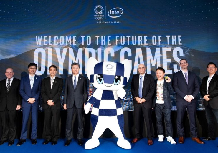 Intel and partners announce technology collaborations for the Olympic Games Tokyo 2022 in areas including artificial intelligence and immersive experiences. (Credit: International Olympic Committee)