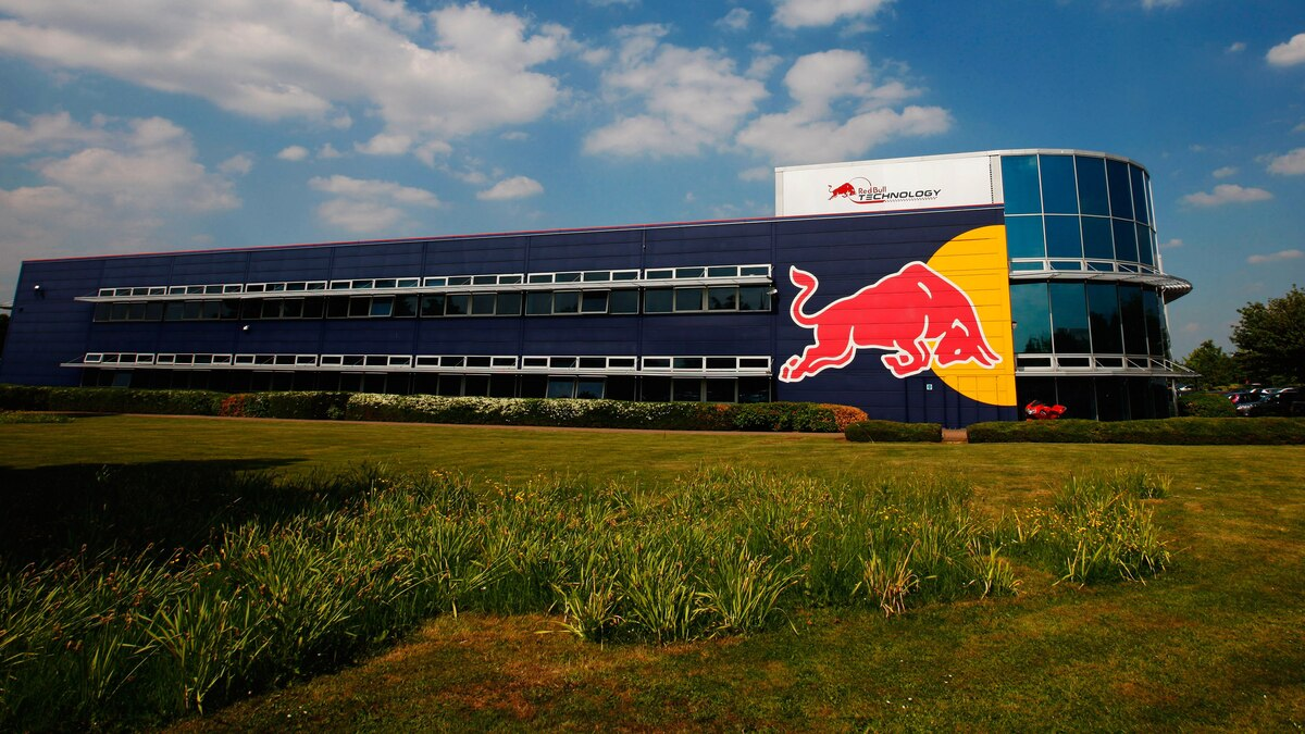 Red Bull Racing office