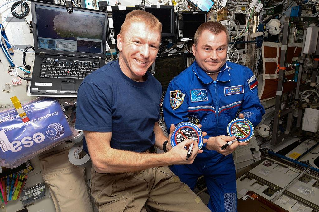 Tim Peake space mission teamwork