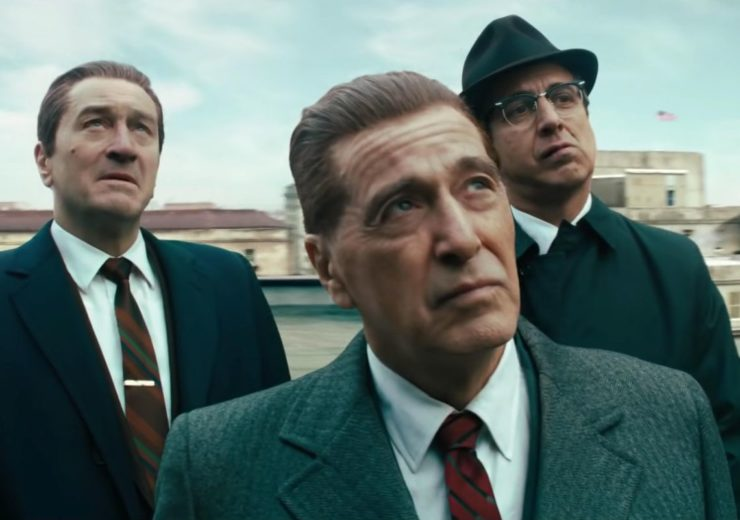 De-aging technology was used on Robert De Niro and Al Pacino for Scorsese's latest film The Irishman (Credit: Netflix)
