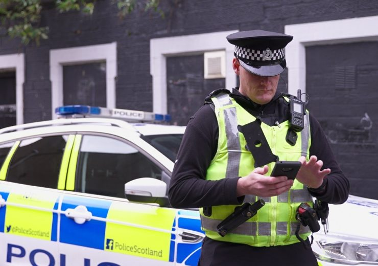 Pronto is used by 20 police forces and more than 40,000 officers across England, Wales and the Channel Islands, and could now be used by 10,000 in Scotland (Credit: Motorola Solutions)