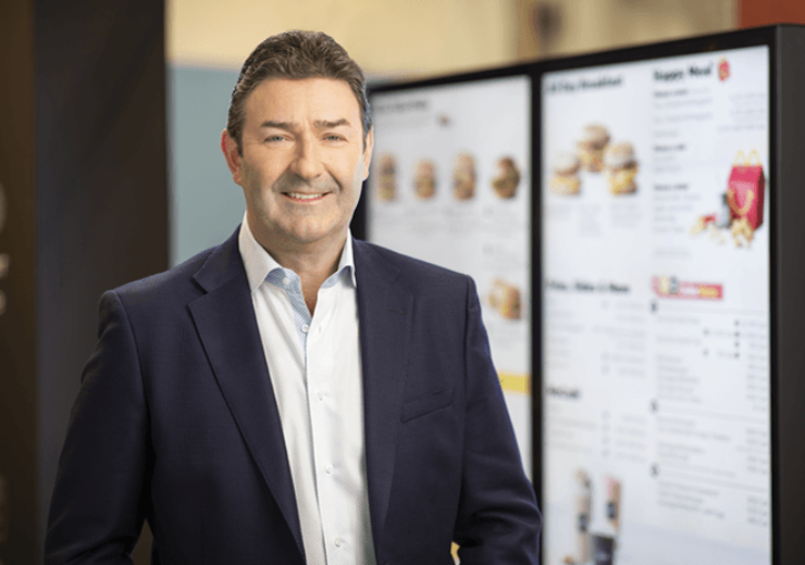 Steve Easterbrook was CEO of McDonald's from 2015 (Credit: McDonald's)