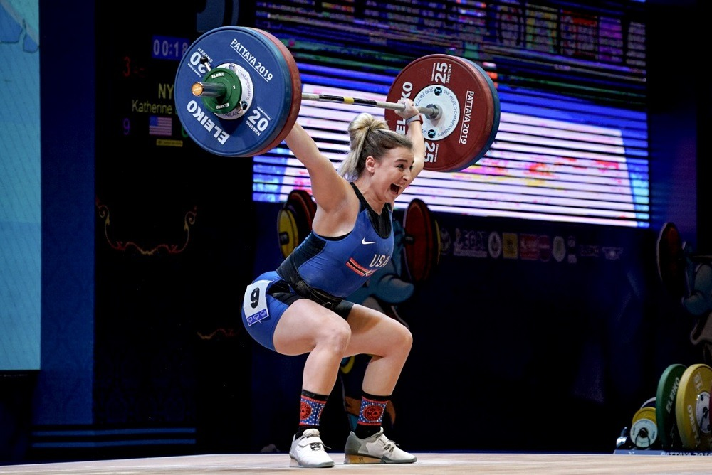 USA Weightlifting Kate Nye