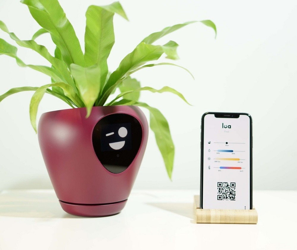 Lua smart plant pot, CES 2020 weird gadgets