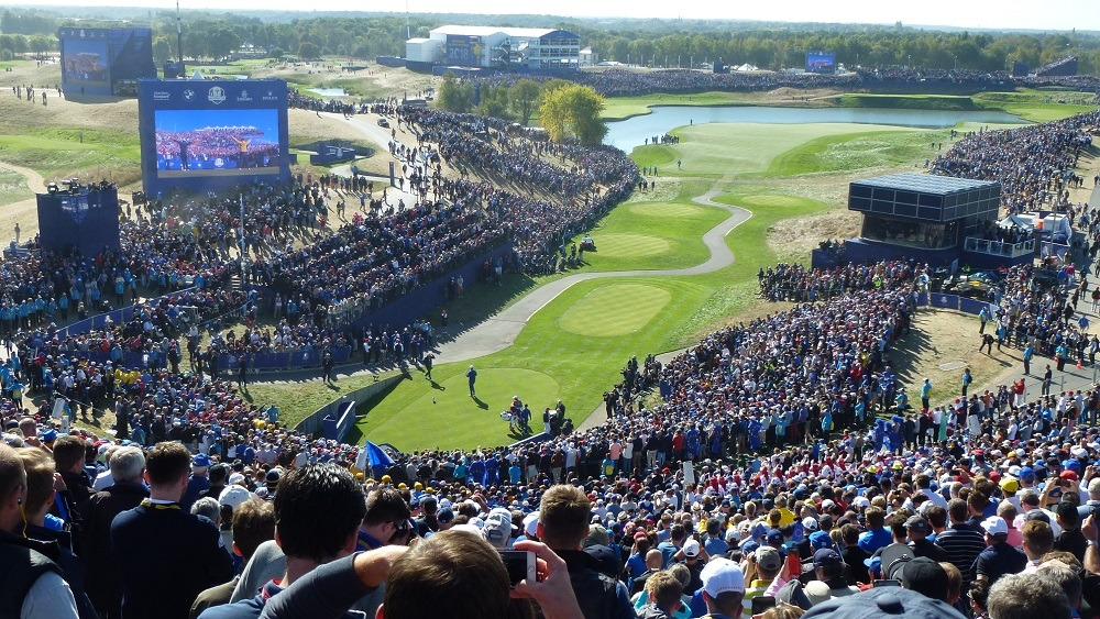 Ryder Cup 2018, edge computing examples