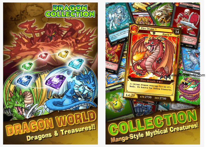 Dragon Collection Konami, Konami mobile, Konami future