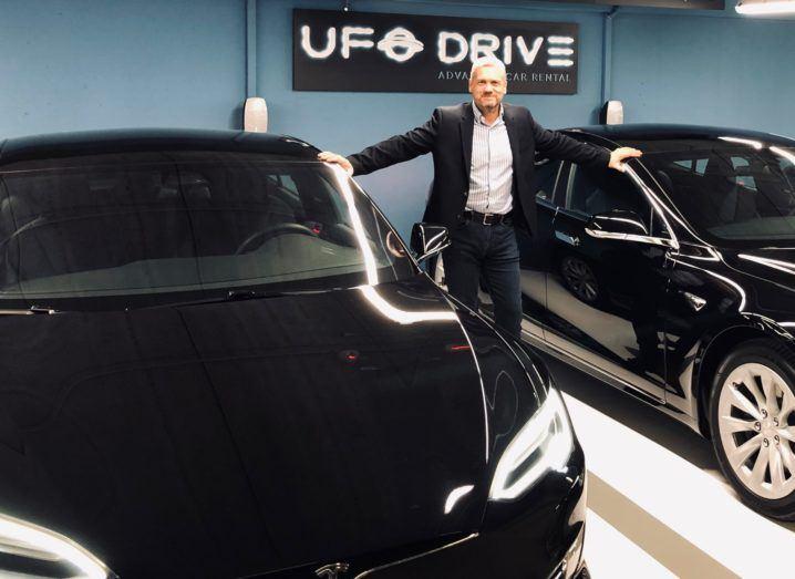 UFODrive founder Aidan McClean