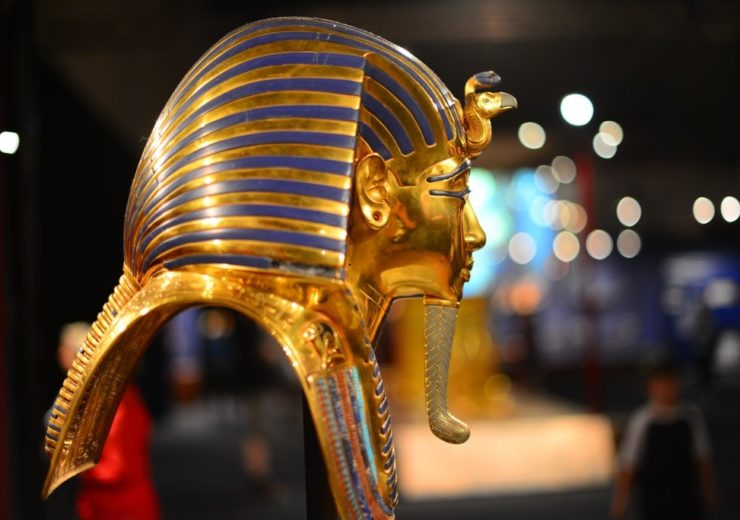 Tutankhamun death mask2