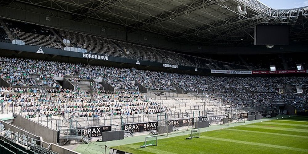 football cardboard fans
