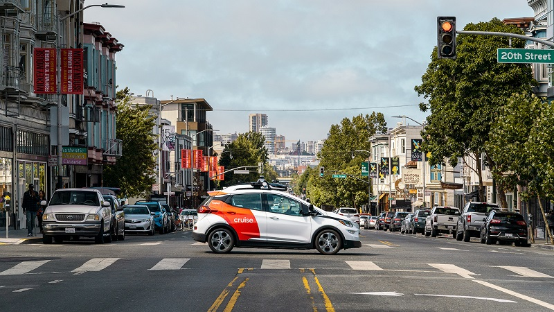 Self-driving car start-up Cruise raises $2bn from Microsoft, GM, and others