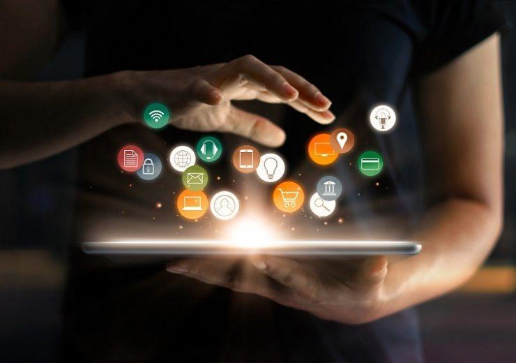 Digital,Online,Marketing,Commerce,Sale,Concept.,Woman,Using,Tablet,Payments
