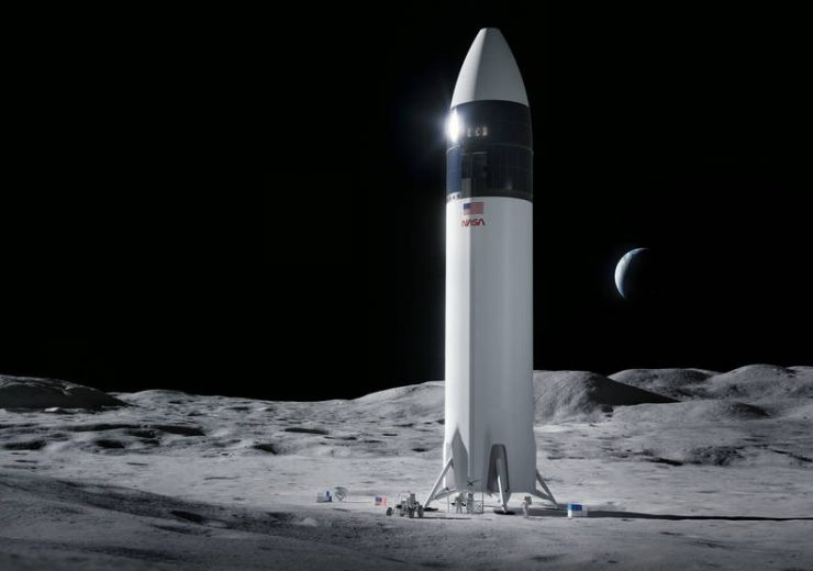 NASA awards $2.9bn contract to SpaceX for human landing system