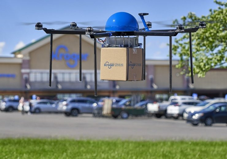 Kroger Delivery x Drone-Express