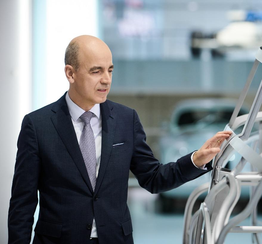 Dr Nicolas Peter, CFO, BMW.
